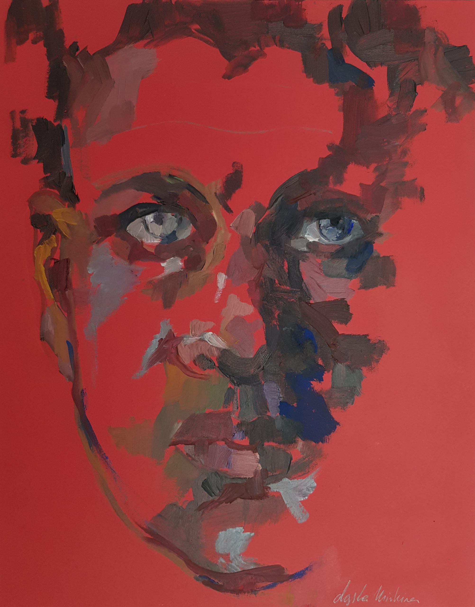 """dasha minkina – """"Blue eyes on red"""""""
